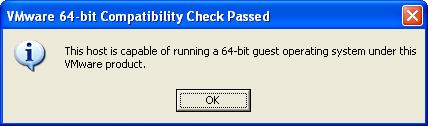 Processor Check for 64-bit compatibility