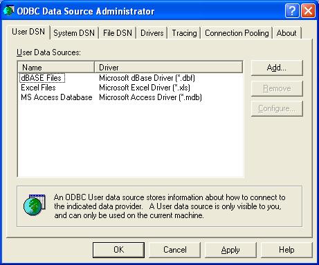 ติดตั้งและคอนฟิก MySQL ODBC ตอนที่ 2 – SpaLinux com – สปาลีนุกซ์