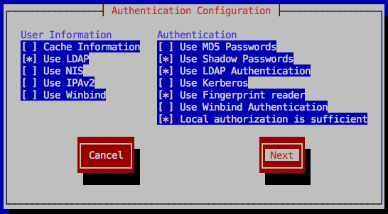 how to use ldap for user authentication
