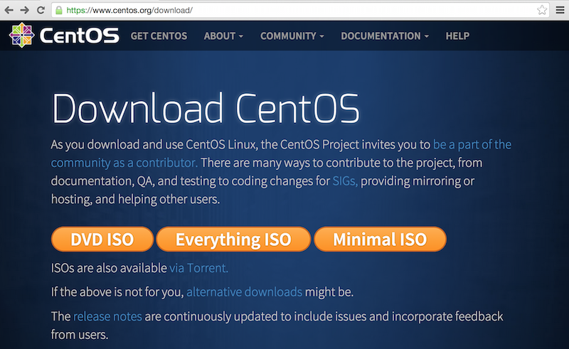 Download-CentOS