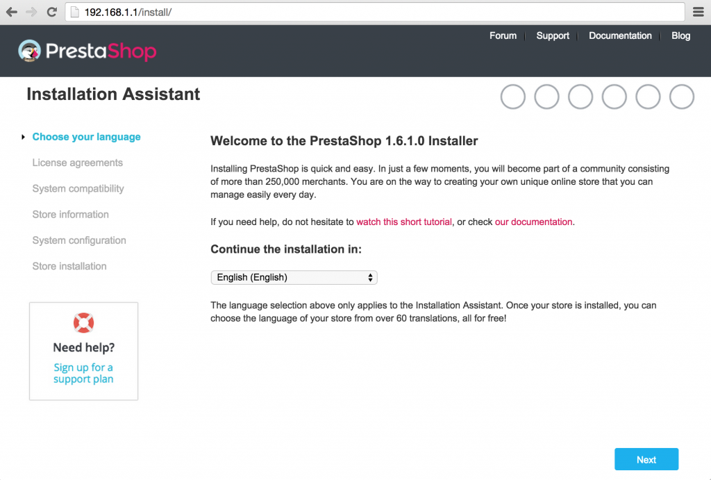 c-p01-Welcome-to-the-PrestaShop-Installer