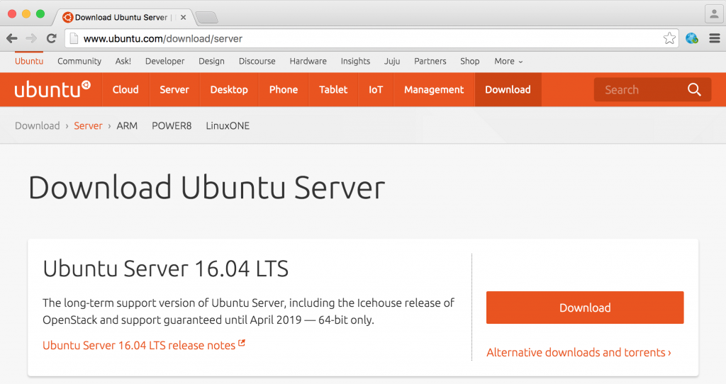 02-Download-Ubuntu-Server