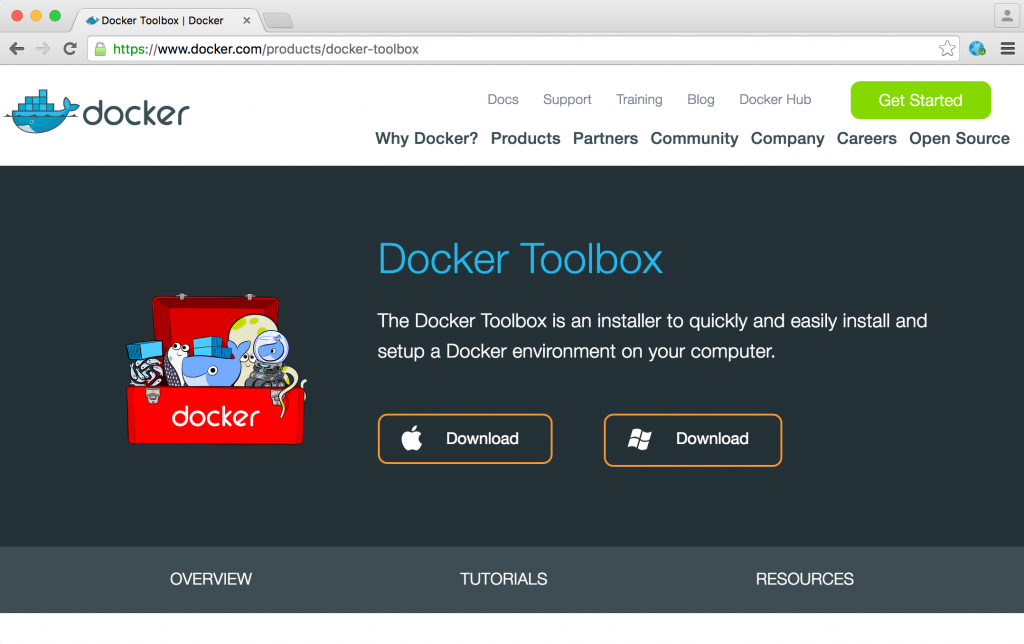 01-Download-Docker-Toolbox